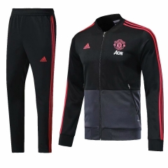 Manchester United Black N98 Jacket Suit 2018