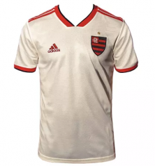 Flamengo Away White Soceer Jersey 2018-2019