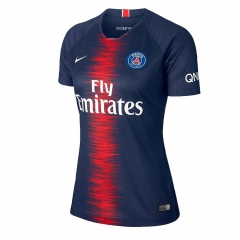 2018-2019 Paris Home Blue Women's Soccer Jersey