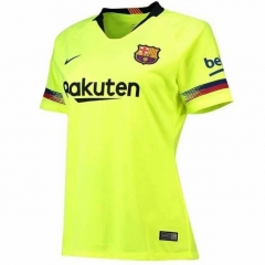 2018-2019 Barcelona Away Green Women's Soccer Jersey