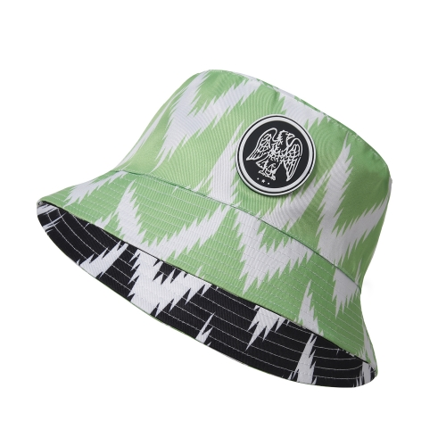 Bucket Hat Nigeria Soccer Fashion Style Reversible Cap