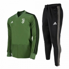 Juventus Green V Neck Training Suit 2018-2019