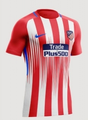 2018-2019 Atletico Madrid Home Red Women's Soccer Jersey