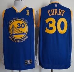 Men NBA 2018-19 Stephen Curry Golden State Warriors #30 Blue Jersey - Champion version