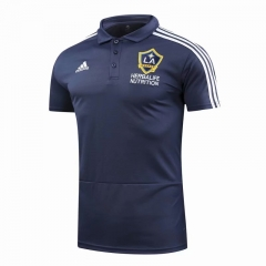 Los Angeles Galaxy Blue Polo 2018-2019