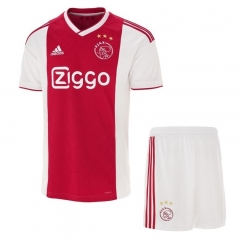 Youth Ajax Home Uniform 2018-2019 ,Jersey+Shorts