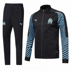 Marseille Black N98 Jacket Suit 2018-2019
