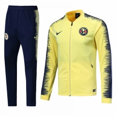 Club America Yellow N98 Jacket Suit 2018-2019