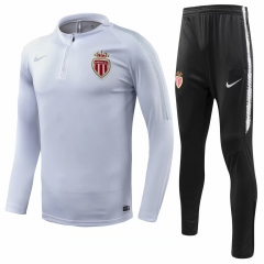 Monaco White Training Suit 2018-2019