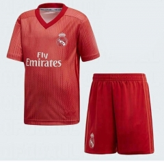 Youth Real Madrid Third Away Uniform 2018-2019 ,Jersey+Shorts