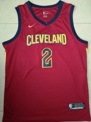 SEXTON #2 Nike Cleveland Cavaliers Swingman City Edition Jersey - Red