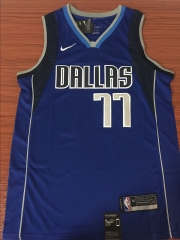 DONCIC #77 Nike Dallas Mavericks Statement Swingman City Edition Jersey