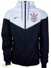 Corinthians White Black Windbreaker 2018