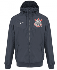 Corinthians Black Windbreaker 2018