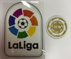 La Liga Patch + Barcelona La Liga Champion Soccer Patch, 2pcs