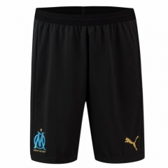 2018-2019 Men's Marseille Away Black Shorts