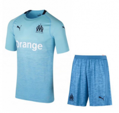 Marseille Third Away Uniform 2018-2019 ,Jersey+Shorts