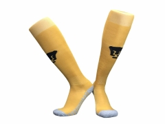2018-2019 Pumas Home Yellow Soccer Sock