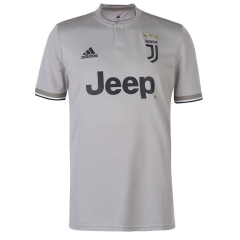 Juventus Away Grey Soceer Jersey 2018-2019