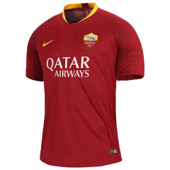 Player Version AS Roma Home Red  Soccer Jersey 2018-2019