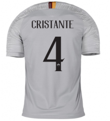 #4 CRISTANTE Roma Away Soccer Jersey 2018-2019