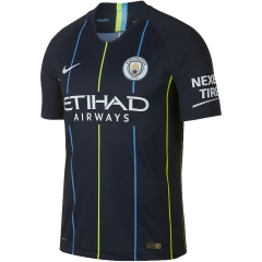 Player Version 2018-2019 Manchester City Away Soccer Jersey Shirts
