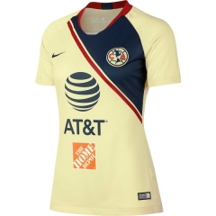 2018-2019 Club America Home Women's Soccer Jersey