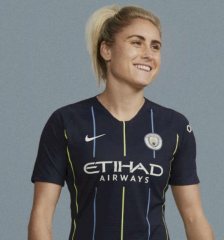 2018-2019 Manchester City Away Women's Soccer Jersey