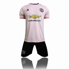 Manchester United Away Uniform 2018-2019 ,Jersey+Shorts