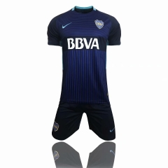 Boca Third Away Blue Uniform 2018-2019 ,Jersey+Shorts
