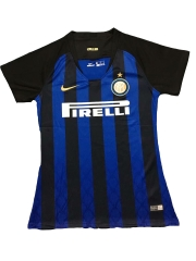 2018-2019 Inter Milan Home Women's Soccer Jersey