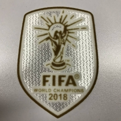 Fifa World Cup Champions 2018 White Soccer Patch,1pcs