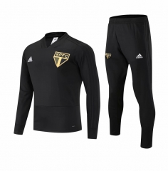 Sao Paulo Black Training Suit 2018-2019