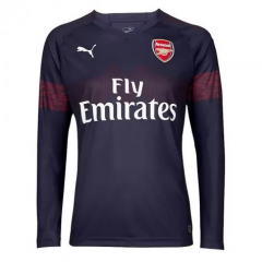Arsenal Away Long Sleeve Soccer Jersey Shirt 2018-2019
