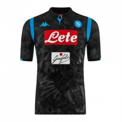 Napoli Away Black Soccer Jersey 2018-2019
