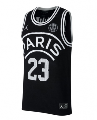 Jordan X Paris Saint-Germain Flight Knit 23 Basketball Jersey 2018-19