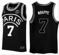#7 Mbappe Jordan X Paris Saint-Germain Basketball Jersey