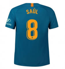 #8 SAUL Atletico Madrid Third Away Soccer Jersey 2018-2019