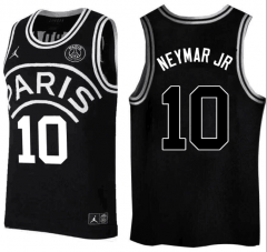 #10 Neymar JR Jordan X Paris Saint-Germain Basketball Jersey