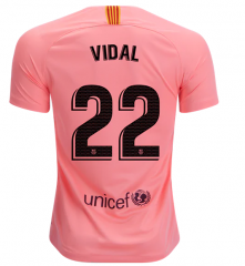 #22 VIDAL Barcelona Third Away Soccer Jersey 2018-2019
