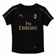 2018 AC Milan Black Training Short Shirt Jersey