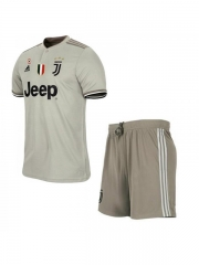 Youth Juventus Away Uniform 2018-2019 ,Jersey+Shorts