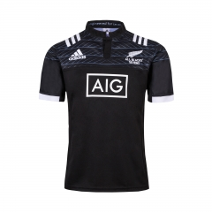 Adult 2018-2019 All Black Seven-Player Home Rugby Jersey