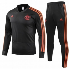 Flamengo Black Training Suit 2018-2019