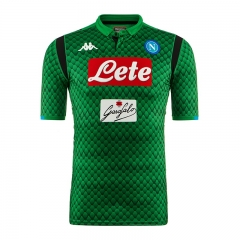 Napoli Green Goalkeeper Soccer Jersey Shirt 2018-2019