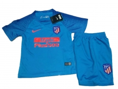 Youth Atletico Madrid Away Uniform 2018-2019 ,Jersey+Shorts