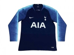 Tottenham Hotspur Away Long Sleeve Soccer Jersey Shirt 2018-2019