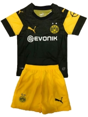 Youth Borussia Dortmund Away Uniform 2018-2019 ,Jersey+Shorts