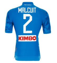 #2 MALCUIT Napoli Soccer Jersey 2018-2019