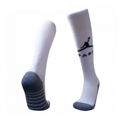 2018-2019 Paris Jordan UCL Third Away White Soccer Sock